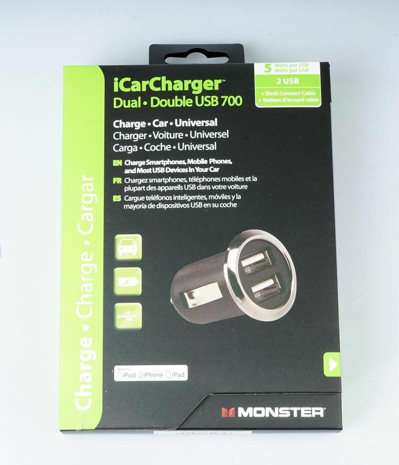 スマートフォン・携帯電話用アクセサリー, その他 Monster Dual.USB700 iphone 5s Lightning