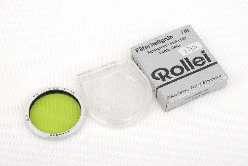 交換レンズ用アクセサリー, レンズフィルター Rollei Light-green Bay III RIII Rolleiflex 2.8Fjp23415