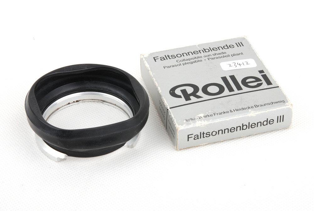 交換レンズ用アクセサリー, レンズフード Rollei Bay III for Rolleiflex 2.8F jp23412