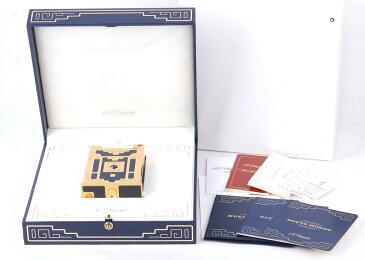 【値下げ】【1998年Nuevo Mundo限定版】S.T.Dupont/エス・テー・デュポン ゴールドコーディング 卓上ライター箱付き