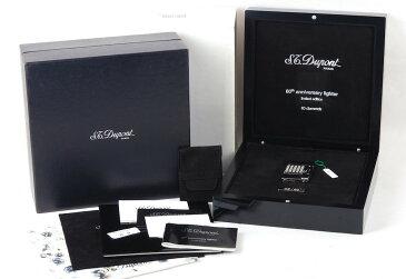 【値下げ】【60周年限定版】S.T.Dupont/デュポン 16660 60個ダイヤモンド象眼 プラチナライター#jp20807