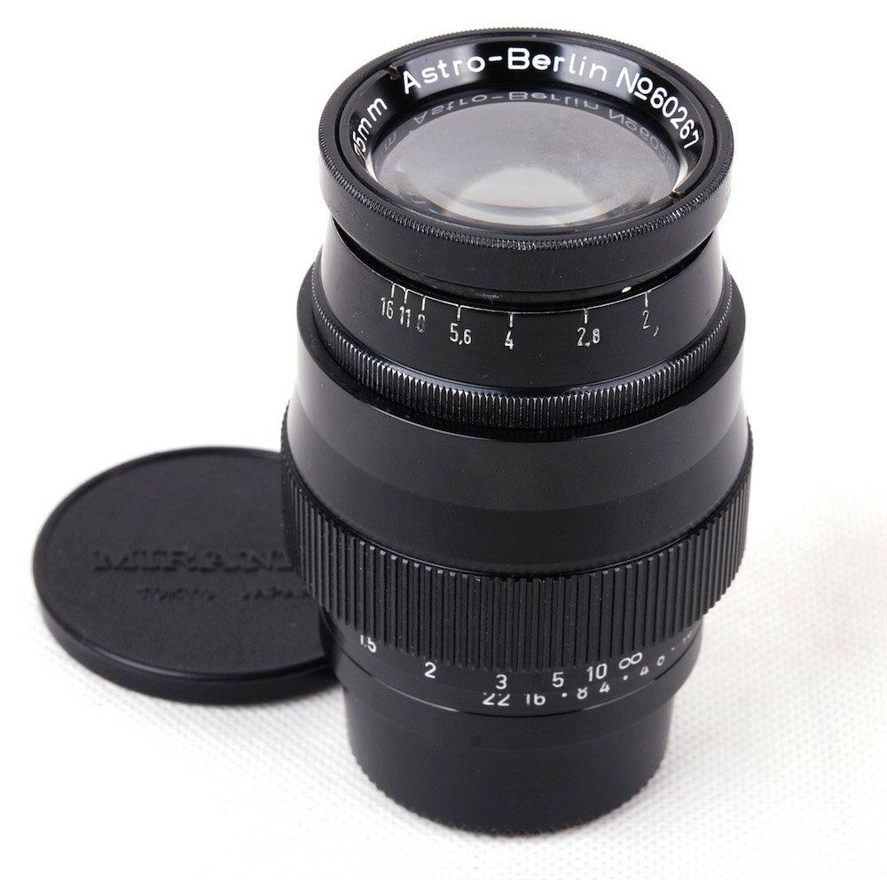 カメラ・ビデオカメラ・光学機器, カメラ用交換レンズ Astro-Berlin Gauss-Tachar 75mm F2 C Leica L39jp21941
