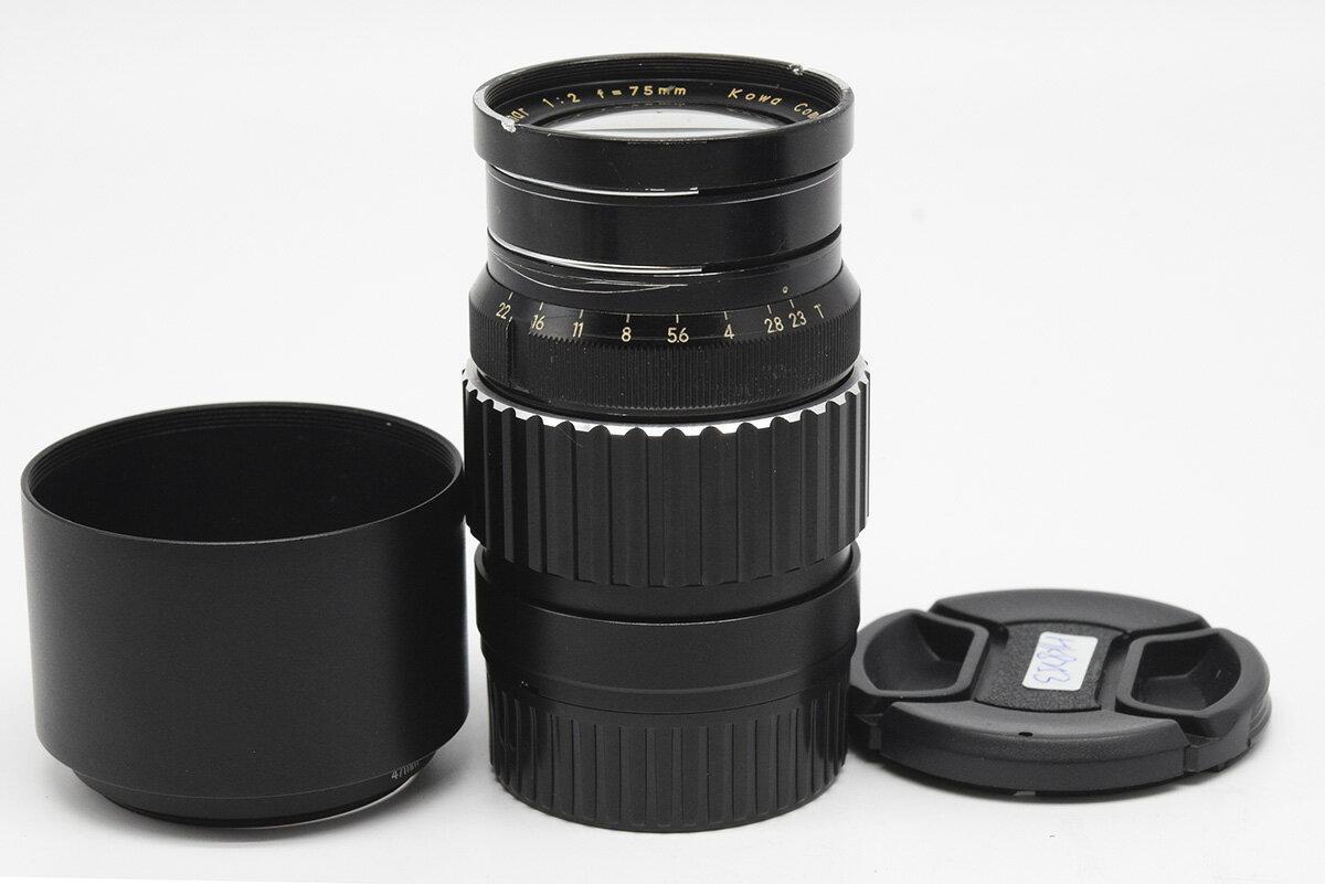 カメラ・ビデオカメラ・光学機器, カメラ用交換レンズ Kowa Cine Prominar 75mm F2 Leica M HK8253