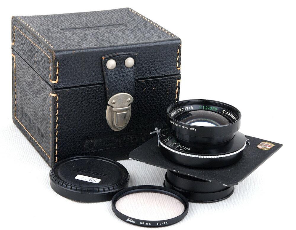 カメラ・ビデオカメラ・光学機器, カメラ用交換レンズ Schneider Symmar 210mm F5.6 370mm F12 Technika Linhof jp22866