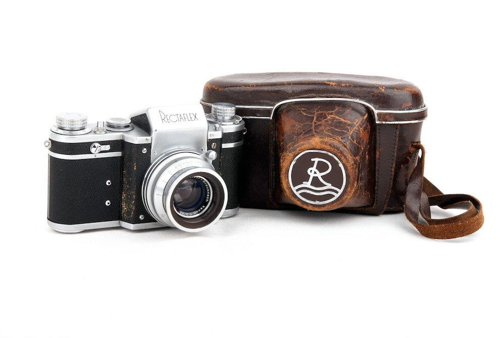 フィルムカメラ, フィルム一眼レフカメラ Rectaflex schneider xenon 50mm F2 jp22666