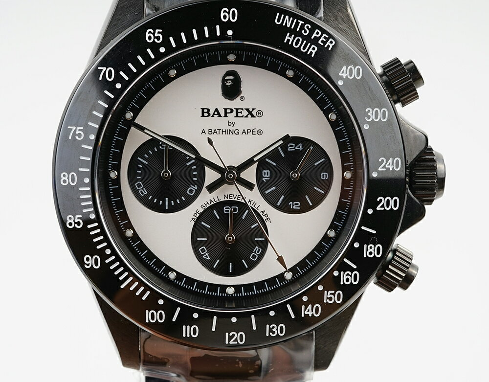 腕時計, メンズ腕時計 A BATHING APE Bapex T003 Rolex Daytona 40mm 33976