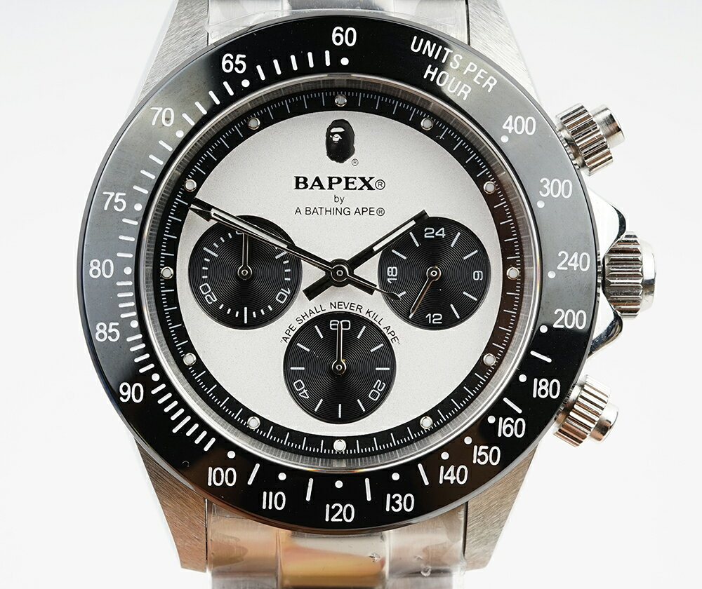 腕時計, メンズ腕時計 A BATHING APE Bapex T003 Rolex Daytona 40mm 33987