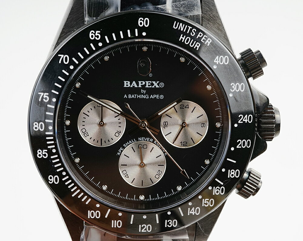 腕時計, メンズ腕時計 A BATHING APE Bapex T003 Rolex Daytona 40mm 33973