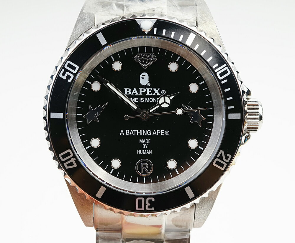 腕時計, メンズ腕時計 A BATHING APE Bapex T001 Rolex GMT 40mm 33895D