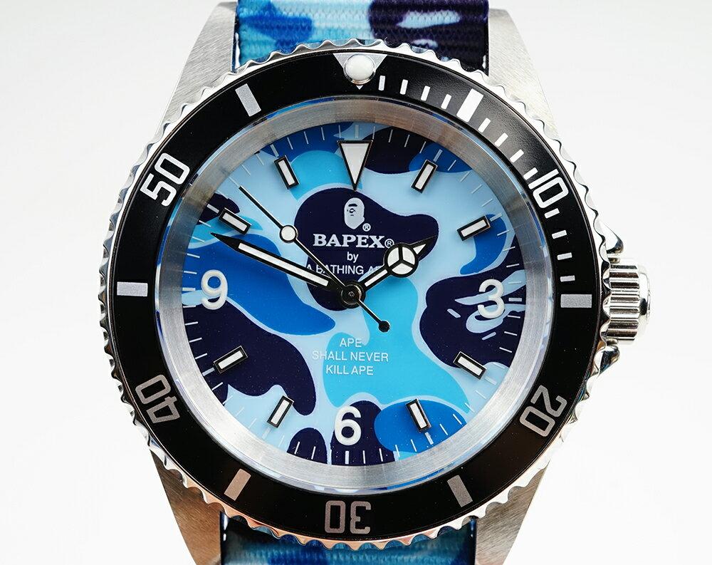 腕時計, メンズ腕時計 A BATHING APE Bapex T001 Rolex Submariner 40mm 33793R