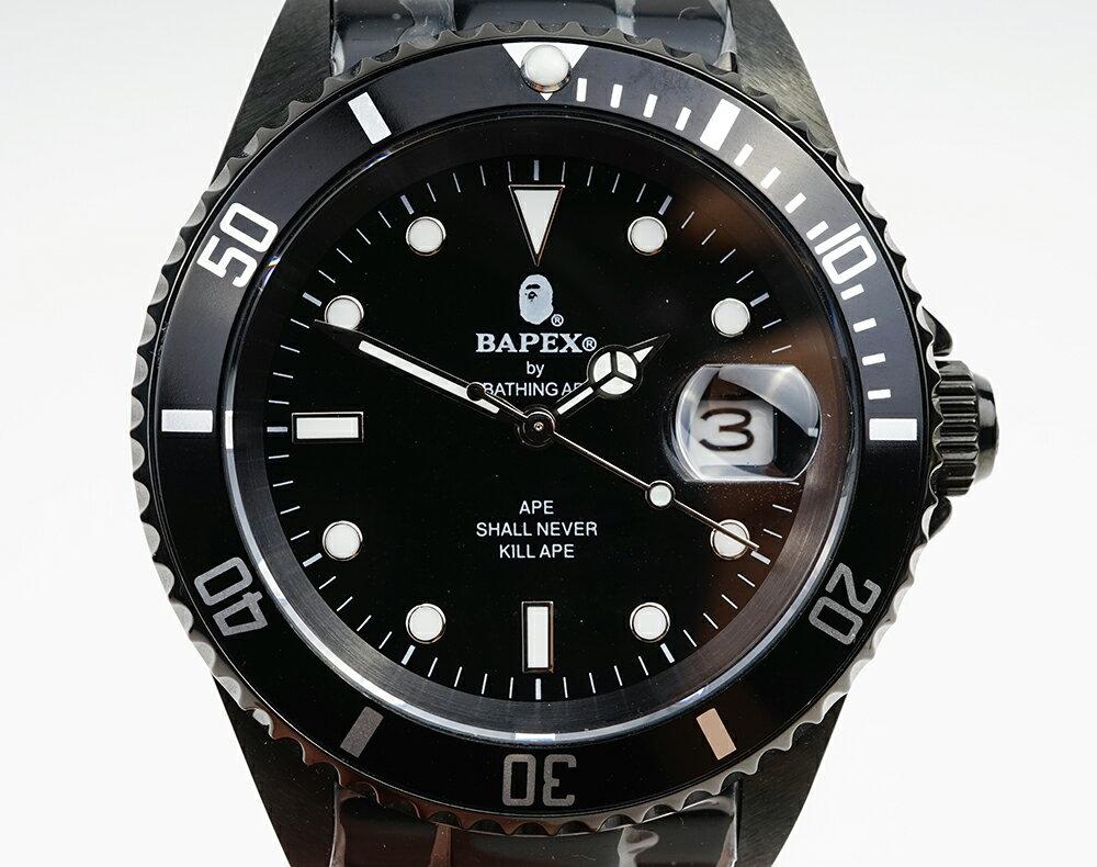 腕時計, メンズ腕時計 A BATHING APE Bapex T001 Rolex Submariner 40mm 33890E