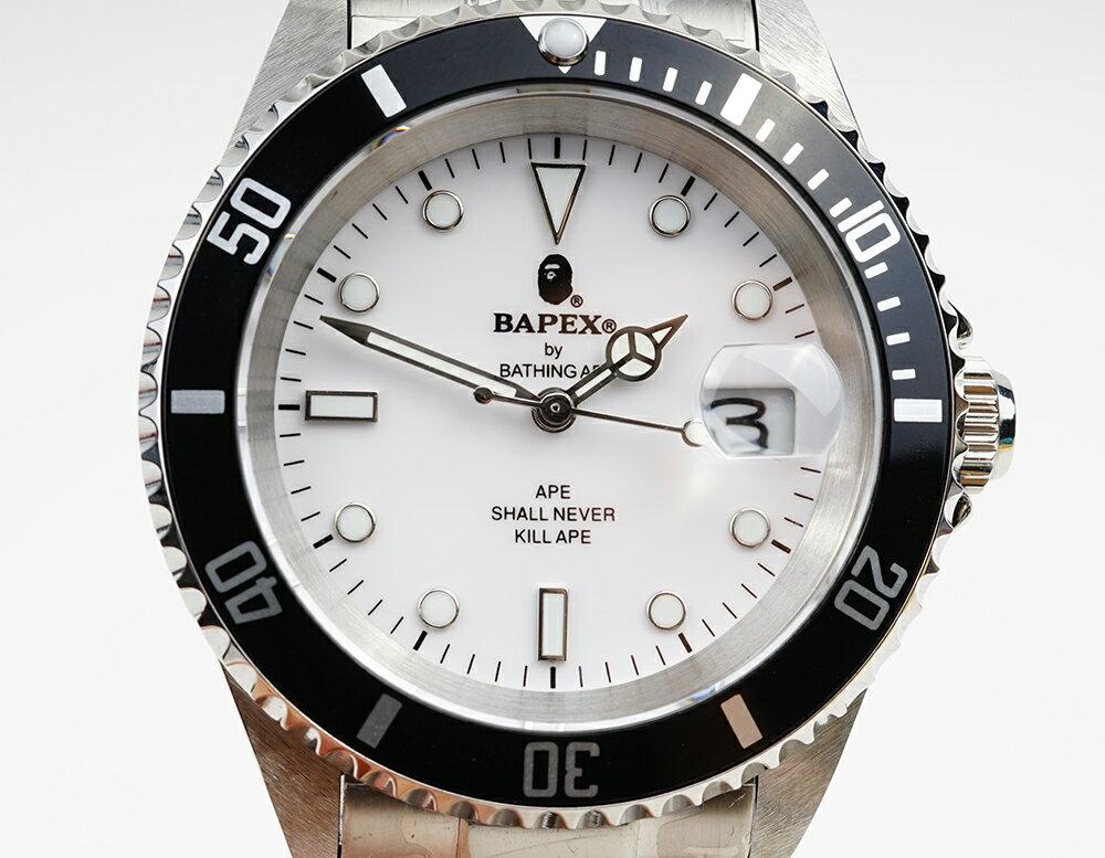 腕時計, メンズ腕時計 A BATHING APE Bapex T001 Rolex Submariner 40mm 33890Y