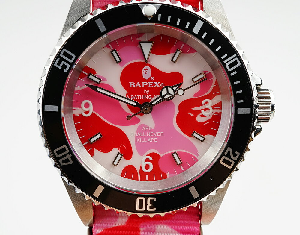 腕時計, メンズ腕時計 A BATHING APE Bapex T001 Rolex Submariner 40mm 33793P