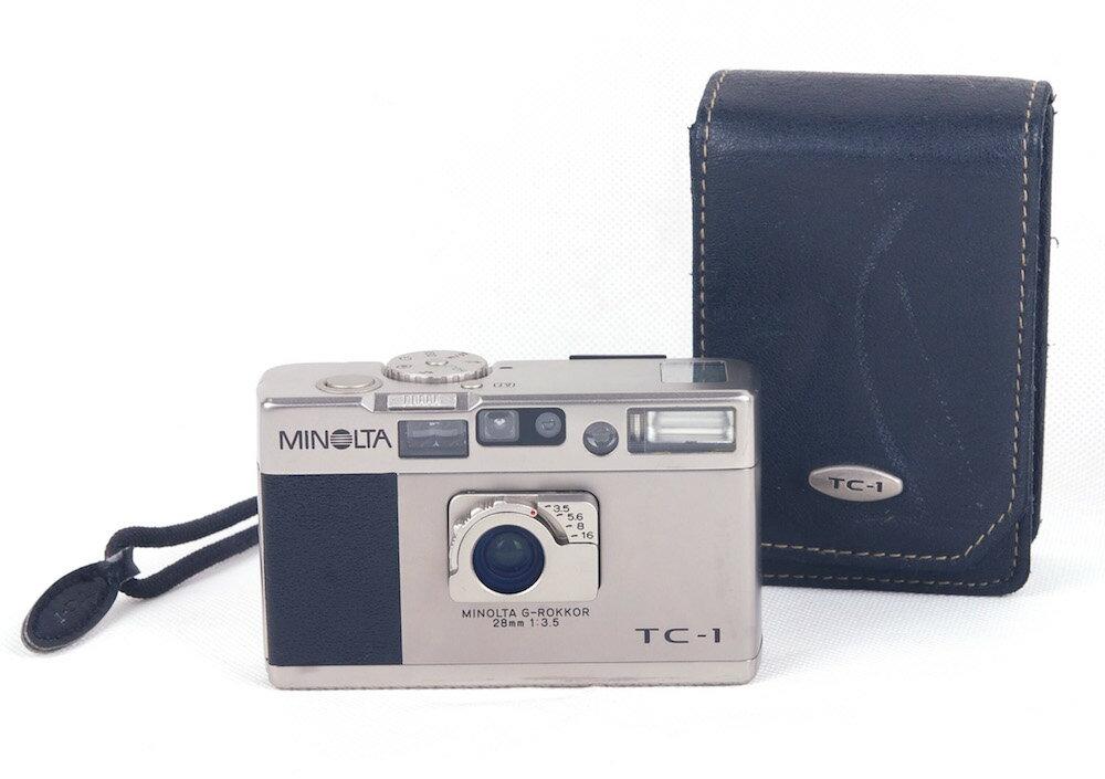 フィルムカメラ, コンパクトフィルムカメラ Minolta TC-1 G-rokkor 28mm F3.5 HK8137
