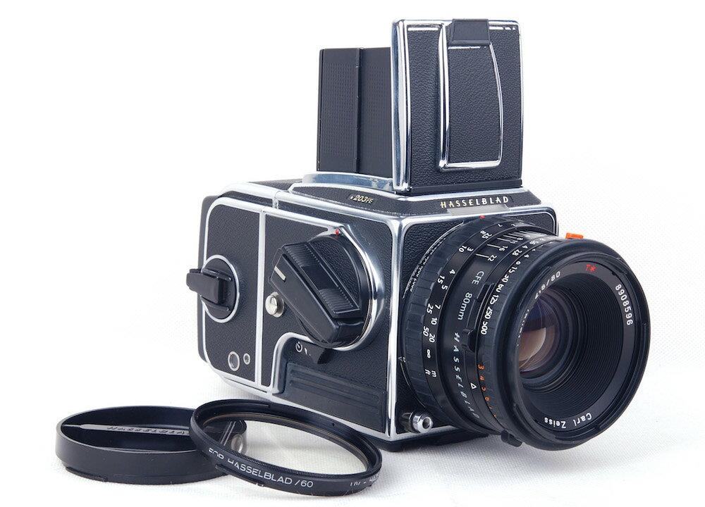 フィルムカメラ, フィルム一眼レフカメラ Hasselblad 203FE Millennium CFE Planar 80mm F2.8 E24jp21377
