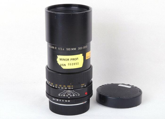 【美品】Leica/ライカ Elcan 180mm F3.4 R カナダ産 アメリカ海軍軍用レンズ #HK8298