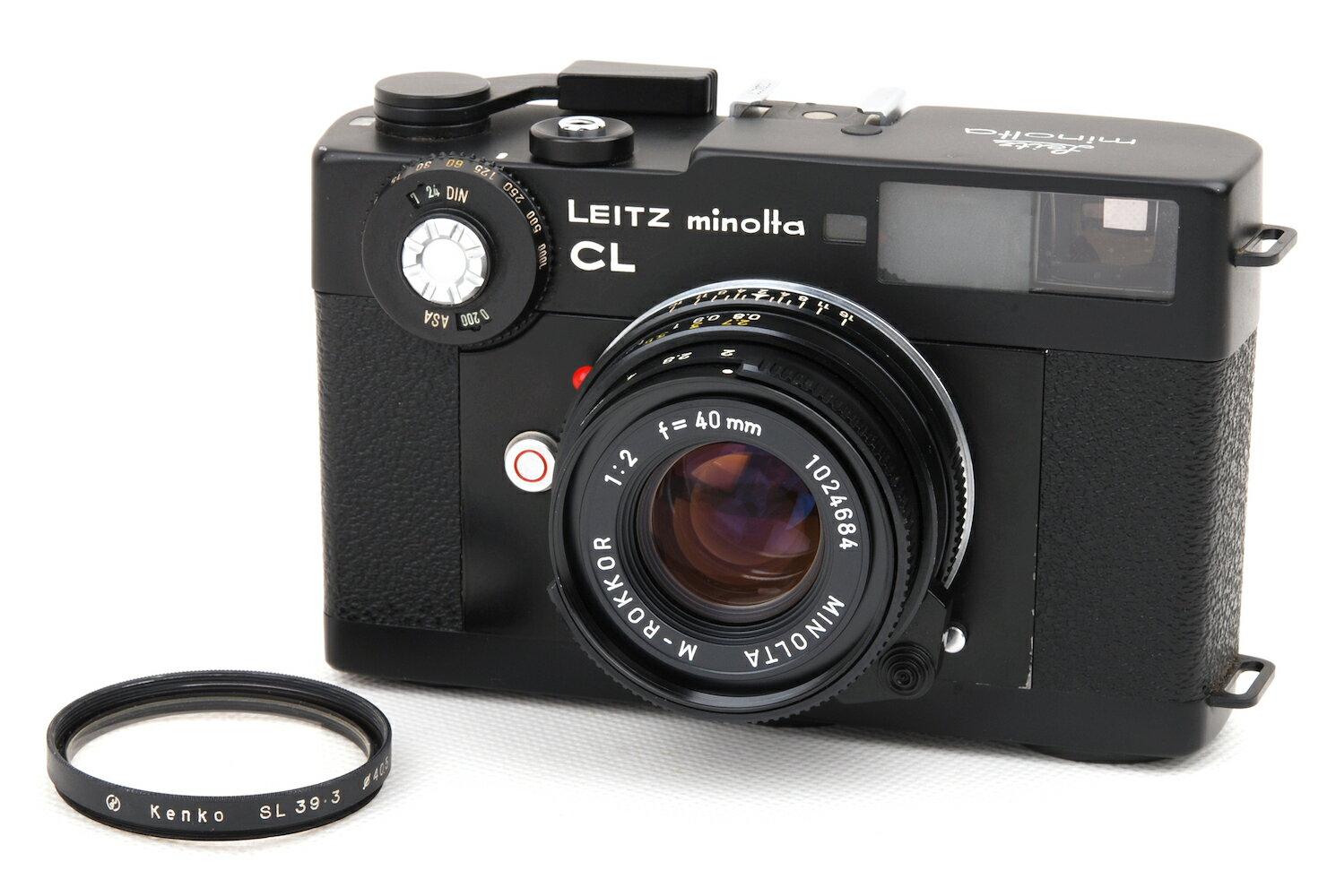 カメラ・ビデオカメラ・光学機器, レンジファインダー Leica leitz minolta CL M-Rokkor-QF 402 jp24379