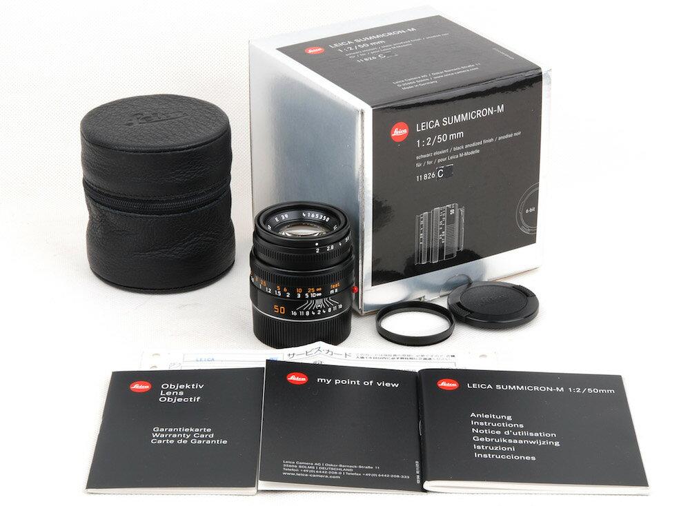 カメラ・ビデオカメラ・光学機器, カメラ用交換レンズ Leica SUMMICRON M 502 11826 6bit M HK8785