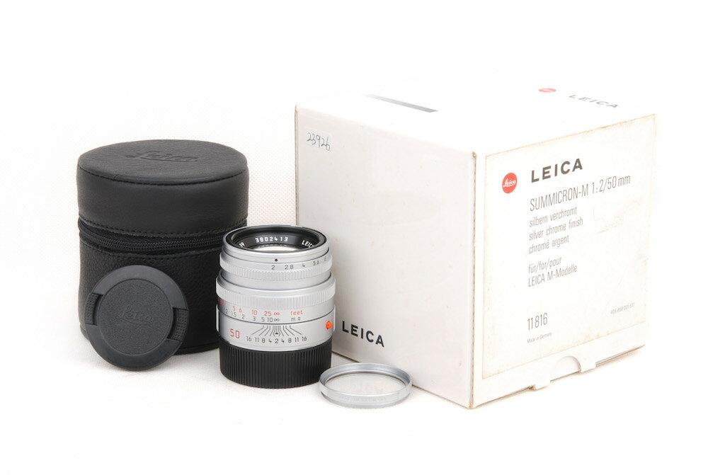 カメラ・ビデオカメラ・光学機器, カメラ用交換レンズ Leica summicron M 502 11816 M HK8792