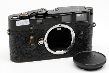 【美品】LEICA/ライカ  M3ブラックペイント真鍮ボディ コレクション珍品 #HK7796