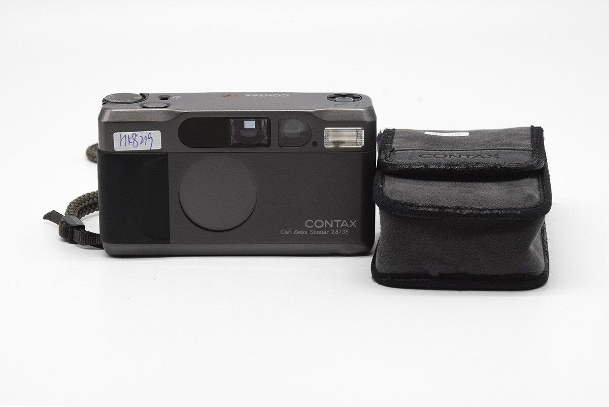 フィルムカメラ, コンパクトフィルムカメラ CONTAX T2 Zeiss sonnar 38mm F2.8 T HK8219