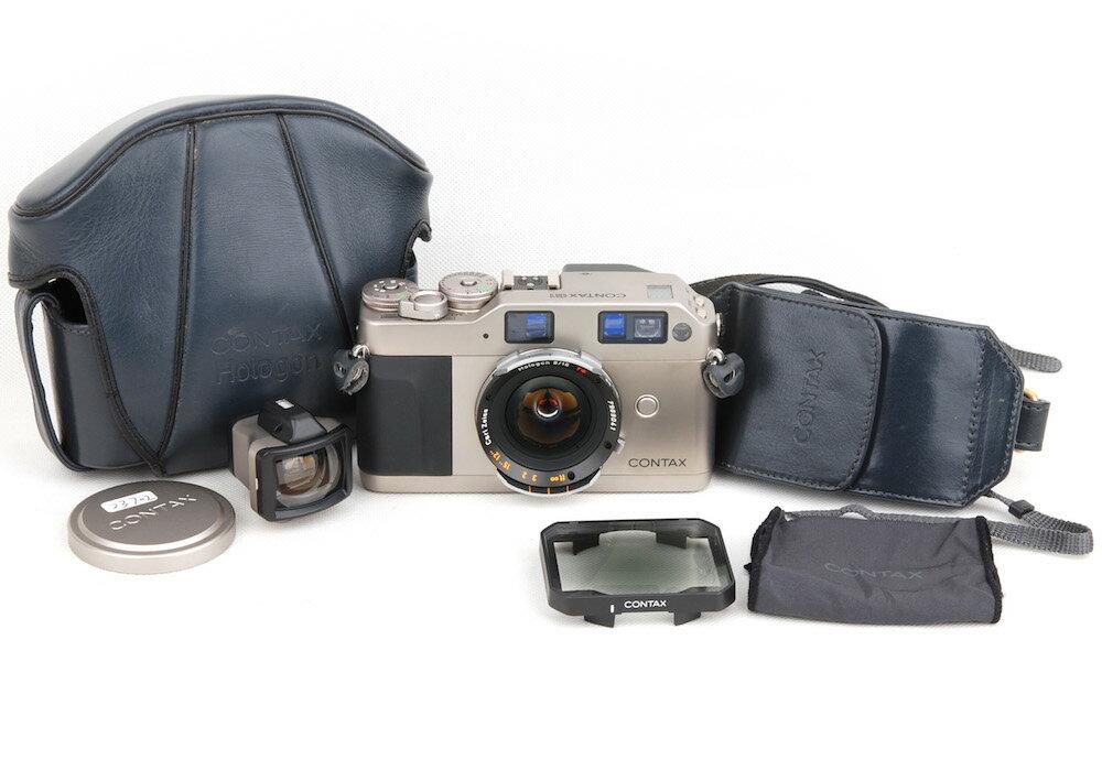 フィルムカメラ, レンズ付フイルム Contax G1 Zeiss Hologon T 16mm F8 jp23702