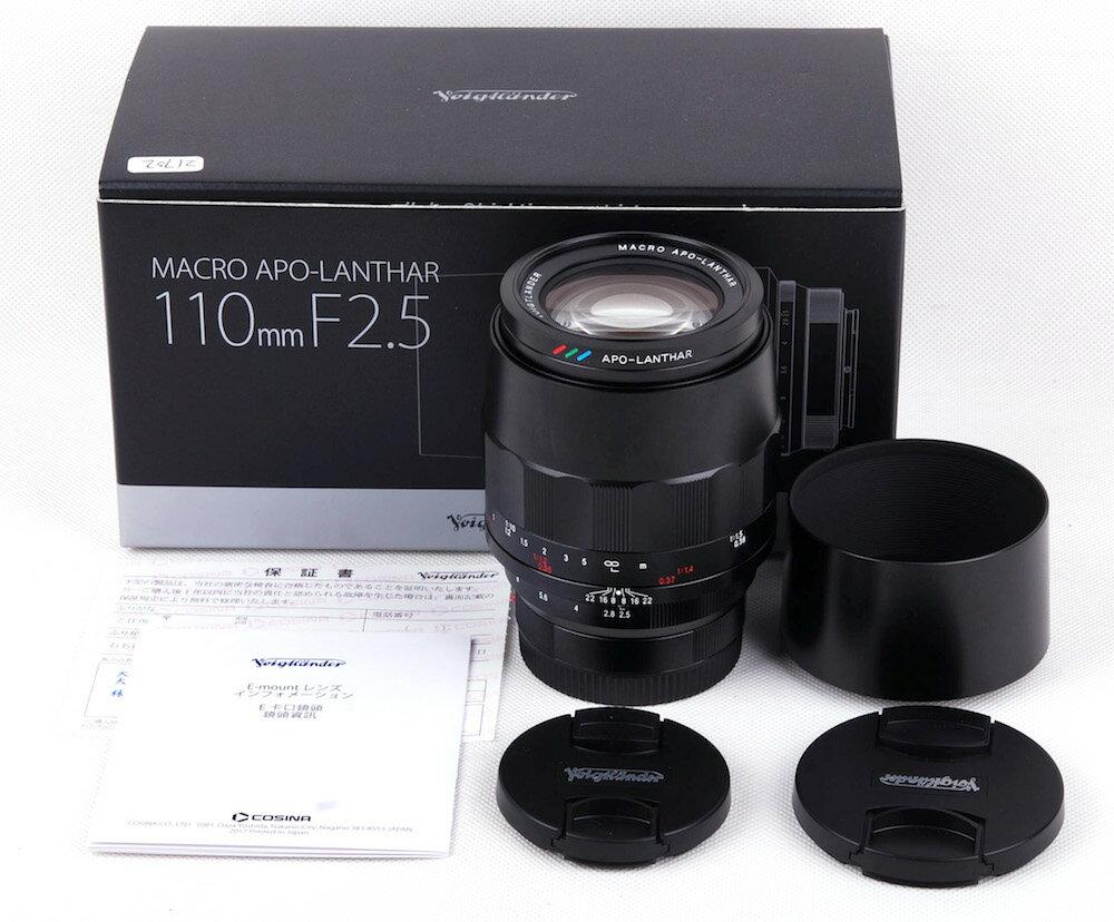 カメラ・ビデオカメラ・光学機器, カメラ用交換レンズ Voigtlander APO-Lanthar 110mm F2.5 SL Macro Ejp21702