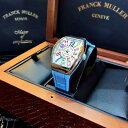 【新品】FRANCK MULLER/フランクミュラー V32 QZ COL DRM AC BL ホワイトスチール カラーフル レーディス腕時計 #FM0010