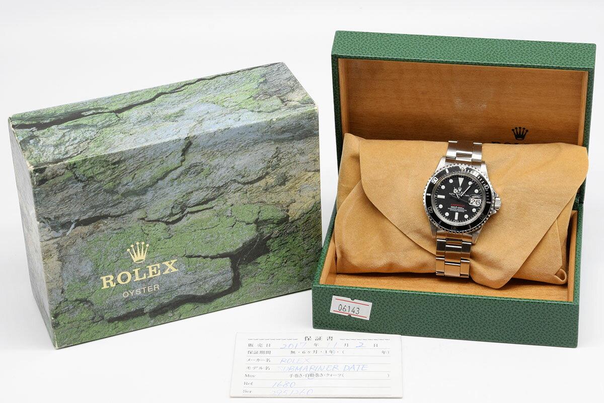 腕時計, メンズ腕時計 Rolex SUBMARINER 1680 Mark VII HK8083