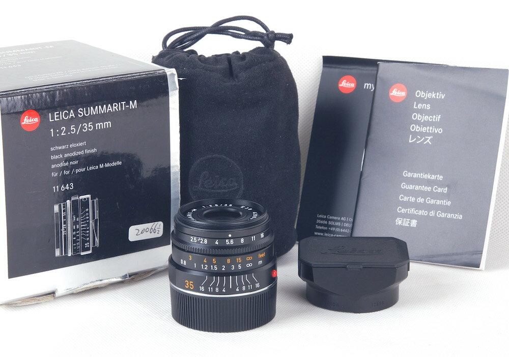 カメラ・ビデオカメラ・光学機器, カメラ用交換レンズ Leica Summarit-M 35mm F2.5 11643 6bit jp20066