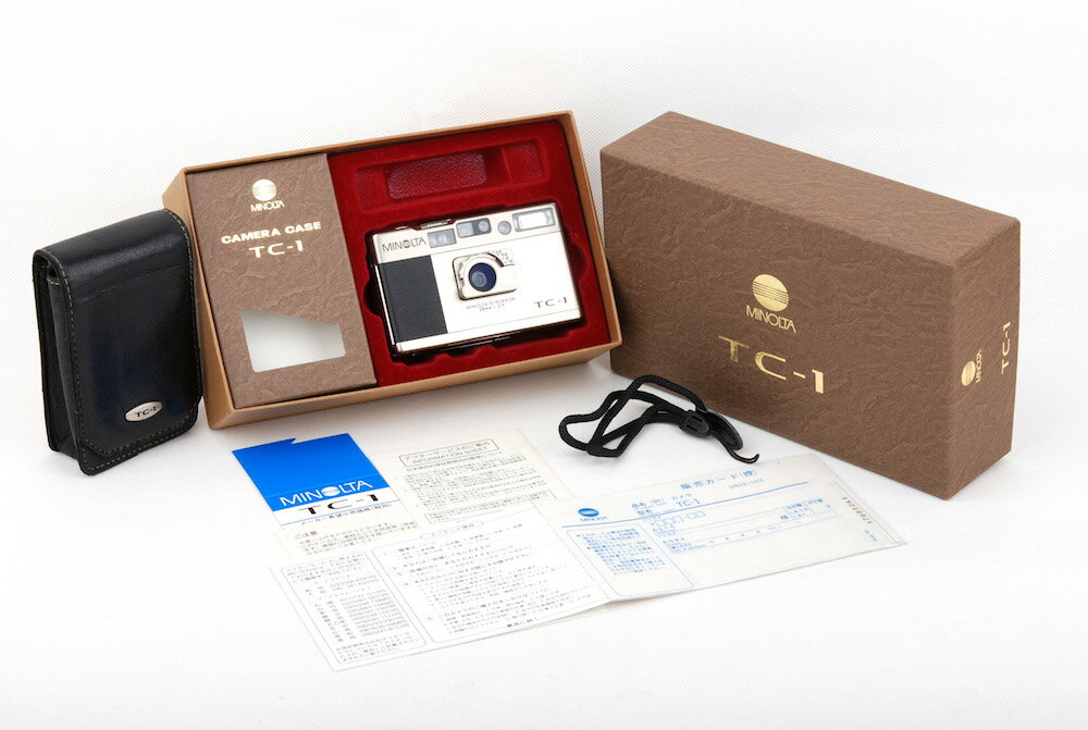フィルムカメラ, コンパクトフィルムカメラ Minolta TC-1 28mm F3.5 HK8604