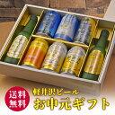 お中元 御中元 ビール ギフト 送料無料 飲み比べ 詰め合わせ クラフトビール 軽井沢ビール330ml瓶×2本 350ml缶×6本