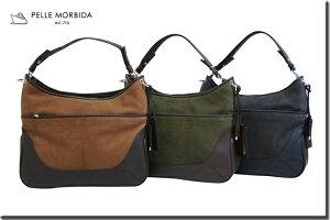 ペッレモルビダ・PELLE MORBIDA バッグ ショルダーバッグ【送料無料】Crociera Canada / New England ゴートスエード エディターズバッグ Editor's Bag PMO-MB203