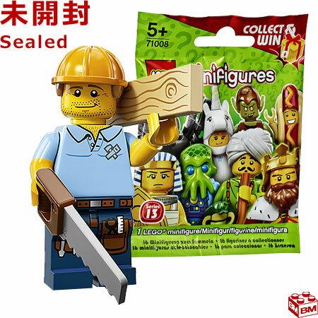 ブロック, セット  13 LEGO Minifigures Series13 Carpenter 71008-9