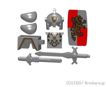 レゴ カスタム パーツ ミニフィグ パラディンセット ライオン・ナイト | lego ミニフィギュア 人形 ファンタジー 武器 装備