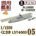 現用艦船キットコレクション4 05B くにさき LST4003 洋上Ver. エフトイズ 1/1250