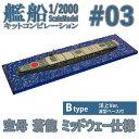 艦船キットコンピレーション 03B 空母 蒼龍 ミッドウェー仕様 Btype 洋上 ウォーターライン Ver. 1/2000 | F−toys 食玩 エフトイズ