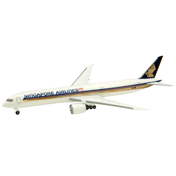 世界のエアライン シンガポール航空 シンガポール航空 BOEING 787-10 1/500 | エフトイズコンフェクト エフトイズ f-トys エフトイズ・コンフェクト 食玩