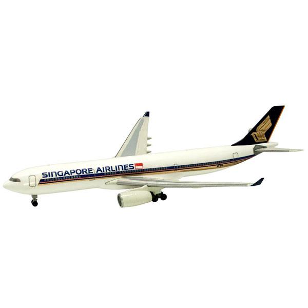 世界のエアライン シンガポール航空 シンガポール航空 AIRBUS 330-300 1/500 | エフトイズコンフェクト エフトイズ f-トys エフトイズ・コンフェクト 食玩
