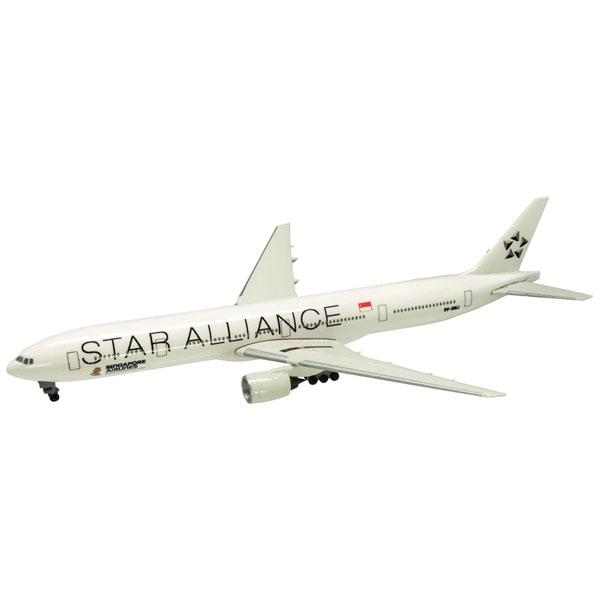 世界のエアライン シンガポール航空 シンガポール航空 BOEING 777-300 Star Alliance 1/500 | エフトイズコンフェクト エフトイズ f-トys エフトイズ・コンフェクト 食玩