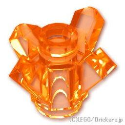 レゴ ミニフィグ パーツ クリスタル 4ポイント [Tr,Orange/トランスオレンジ]   LEGO純正品の バラ 売り ミニフィギュア 宝石