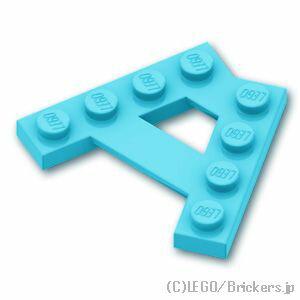 レゴ パーツ ウェッジプレート Aシェイプ [ Md,Azure / ミディアムアズール ] | lego 部品