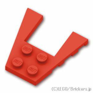レゴ パーツ ウェッジ プレート 4 x 4 [ Red / レッド ] | lego 部品