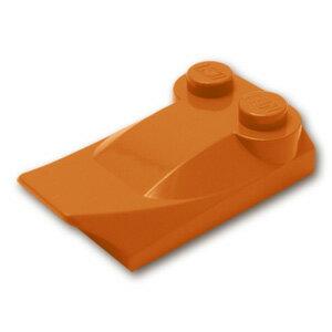 レゴ パーツ スロープ ブロック 2 x 2 x 2/3 - フィン付 [ Dark Orange / ダークオレンジ ] | lego 部品