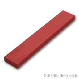 レゴ パーツ タイル 1 x 6 [Dark Red/ダークレッド]   LEGO純正品の バラ 売り
