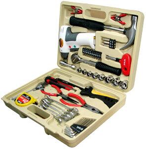 乾電池式・コードレスドライバー・セット・工具・日曜大工・家具組み立てtrad 電池式ドライバ...