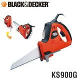 【あす楽】【送料無料】BLACK&DECKER ブラック&デッカー 電動式ノコギリ/ジグソー KS900G 4536178690003
