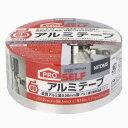 ニトムズ 耐熱アルミテープ J3010 幅38.1mm×長さ9.14m×厚み0.12mm