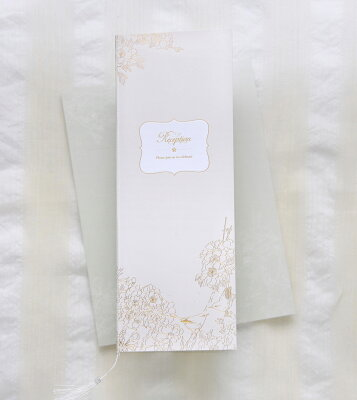 B4「SAKURA」 結婚式 席次表 【手作りキット】1部