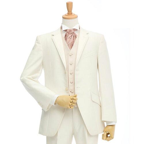 レンタルタキシード/ホワイト(TX-042)〔結婚式タキシード レンタル〕...